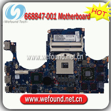 668847-001,Laptop Motherboard for HP ENVY15 Series Mainboard,System Board
