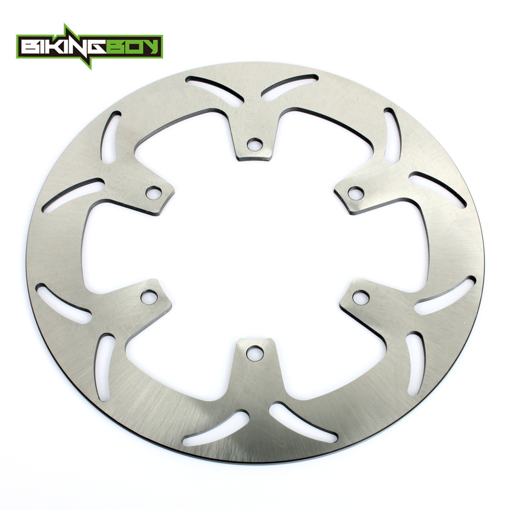 BIKINGBOY Front Brake Disc Rotor for Honda VF 750 SHADOW 94-07 VT 1100 SHADOW 92-95 NTV 650 REVERE 88-98 NT 650 Hawk GT 88-90 bikingboy front brake disc rotor for honda vf 250 v twin magna nt hawk gt 650 ntv revere 650 vf shadow 750 ace aero 1100 88 2007