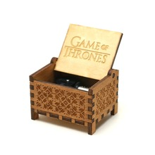 Game of Thrones Musical Box,18 Note Windup Clockwork Mechanism Music Box fo Kids,Tune:the Theme Song