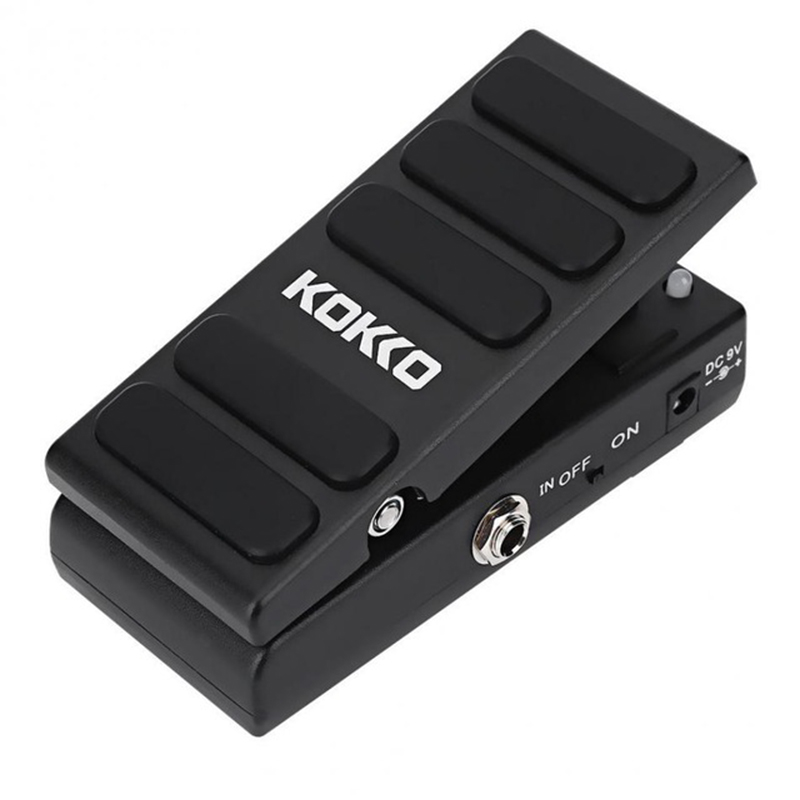 Music-S KOKKO 2 inch 1 Wah/Vol Guitar Pedal KW-1 Mini Wah Volume Combination Multi Effects Pedal Guitar Accessories hotone soul press volume expression wah wah guitar pedal cry baby sound
