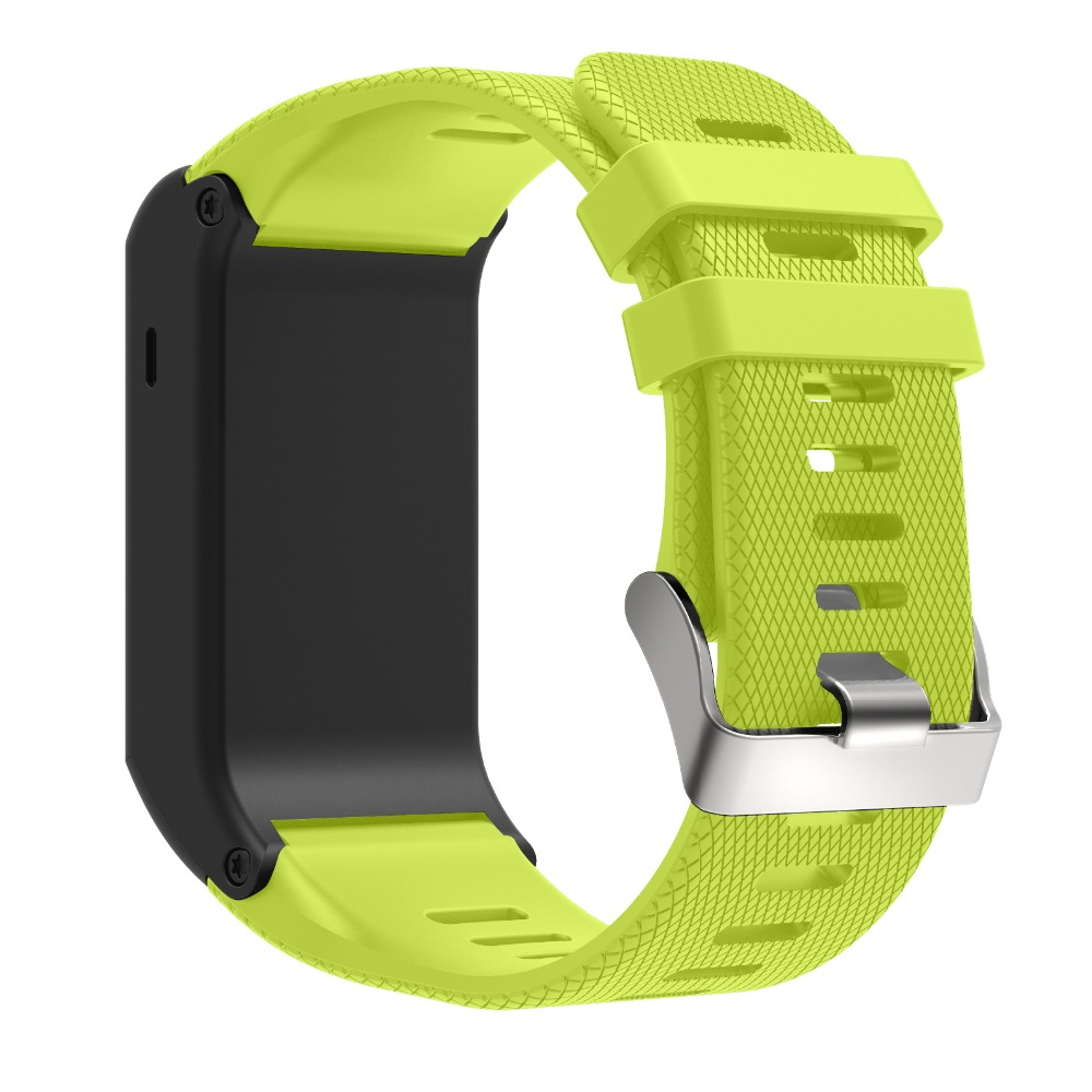 Soft Outdoor Strap For Garmin vivoactive HR Band Silicone watch Replacement Bracelet For Garmin vivoactive HR Band Wriststrap in Watchbands from Watches