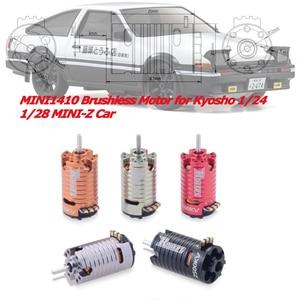 Image 1 - Motor sin escobillas MINI 1410 para coche de derrape, 2500KV, 3500KV, 5500KV, 7500KV, 9500KV, para Kyosho Mr03 Pro Atomic DRZ 1/24 1/28 1/32 RC mini z