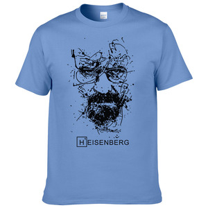 Image 3 - 2017 אופנה חדשה גברים חולצות T הייזנברג Breaking Bad Camisetas Hombre גברים חולצות חולצות חולצות שרוול קצר חולצת טריקו מגניב #191