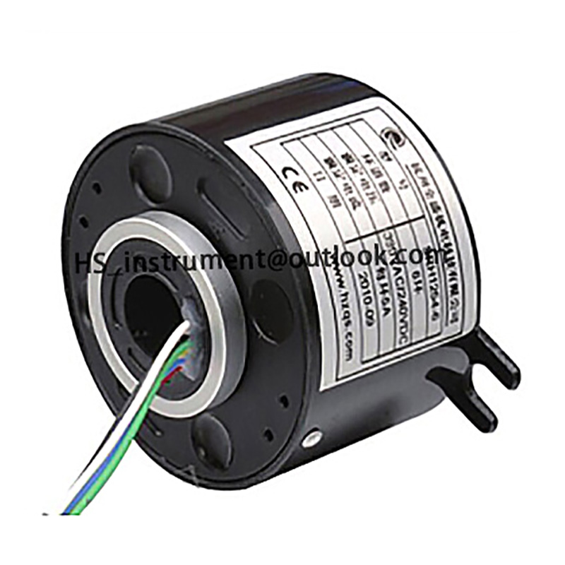 Originale Anello di Scorrimento Serie SRH1254 attraverso-foro 12 Circuito conduttore elettrico slip ring strumento
