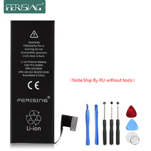 Ferising оригинальный аккумулятор для iphone 5 5g батарея 3.8 В 0 цикла полимерный аккумулятор для iphone5g реальной 1440 мАч батареи мобильного телефона