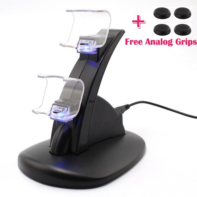 led-dual-usb-estacao-de-carregamento-cradle-doca-suporte-para-sony-font-b-playstation-b-font-4-ps4-game-controller-gaming-free-analog-thumbstick-apertos