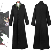 Darker Than Black Hei Cosplay Costume Kuro no Keiyakusha Outfit Trench Coat