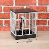 Mobile Phone Jail Cell Prison Lock Up Safe Smartphone Home Table Office Gadget quality Storage Box Locking Cage Party Storage
