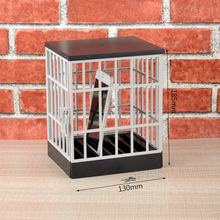 Mobile Phone Jail Cell Prison Lock Up Safe Smartphone Home Table Office Gadget quality Storage Box Locking Cage Party Storage(China)