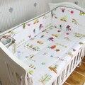 Promoção! 5 PCS Bebê Conjunto Fundamento Do Bebê berço Berço Berço berço berço jogo do fundamento cunas Folha, inclui :( amortecedores + ficha)