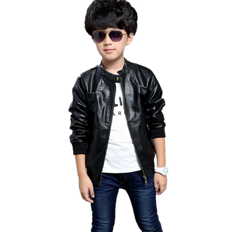 That kids' leather jacket that fits your little boy like a glove is his very favorite part of getting ready for the winter. Paired with jeans and his favorite biker boots, he looks just like a miniature biker when you head off for the weekend on the motorcycles.