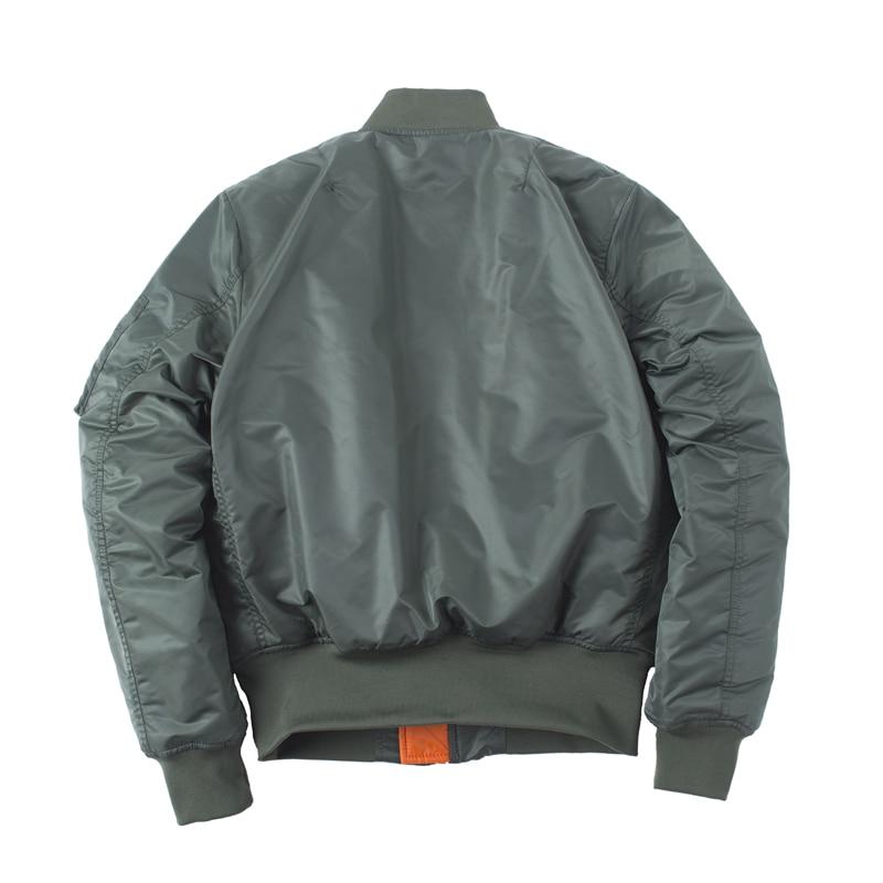 Image 5 - Plus Size US Air Force Pilot Ma1 Bomber Flight Jacket Men hip hop  padded Letterman Winter Waterproof Nylon puffer red women coatflight  jacket menbomber flight jacketsflight jacket