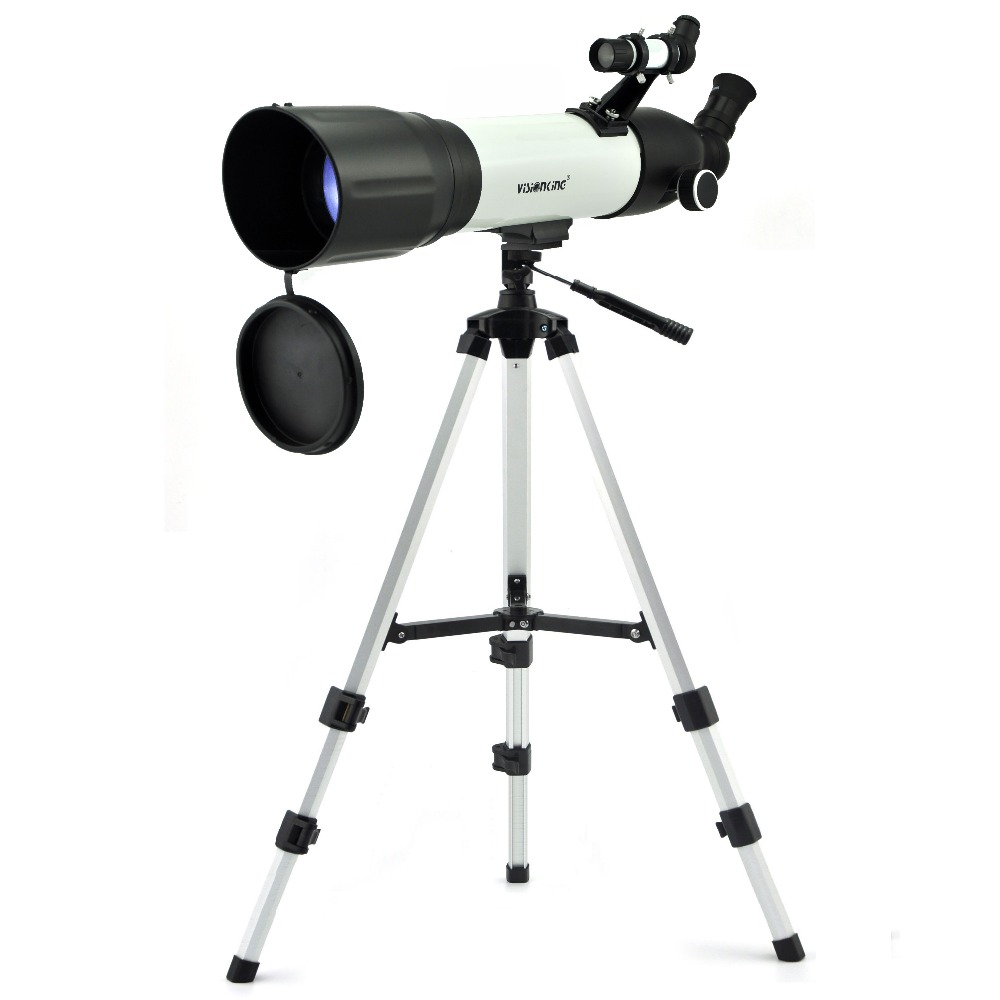 Visionking 90 500mm Monocular Refraction Astronomical Telescope CF 90500 Good Telescopio Sky Moon Star Observation With