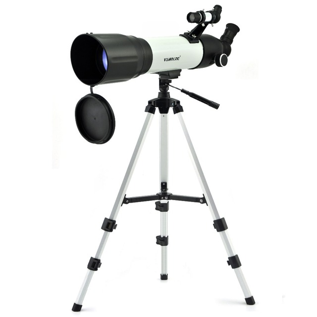 Visionking Monocular Refractive Astronomical Telescope CF 90500 Telescopio Refractor Space Observation Telescopes With Tripod