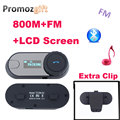 Extra Clip! FM+LCD Screen! 2PCS TCOM-SC BT Interphone 800M HiFi BT Motorcycle motorcycle helmet bluetooth intercom headset
