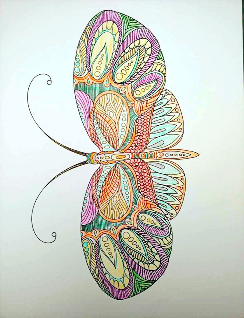 Anti stress colouring doodle and dream - Aliexpress Com Buy Therapy Doodle Dream Coloring Book Antistress Coloring Book For Adults Graffiti Colouring Books Libros Para Colorear Adultos From