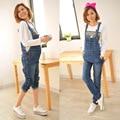 Plus Size XXL Maternity Overalls Summer Pregnancy Jeans Denim Pants for Pregnant Women Pregnancy Jumpsuit