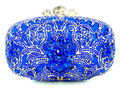 New Women's Crystal Evening Bag Fashion Diamond Pearl Clutch Wedding Party Bride Bridesmaid Handbags Purse Chain Shoulder Bag