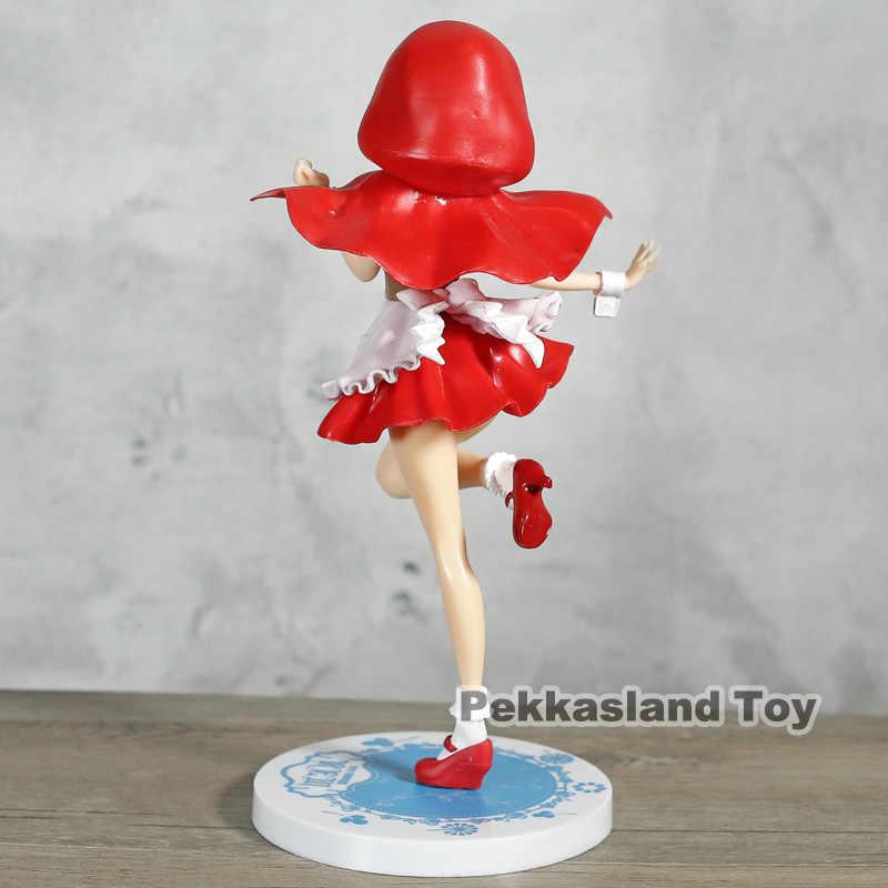 Re A Zero La Vita in Un Altro Mondo di Partenza di Ram Rem Cappuccio Rosso SSS Figure Da Collezione Model Toy
