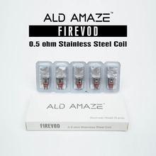 100% Original Replacement stainless Coil head for ALD AMAZE ego series Firevod atomizer 5pc free shipping
