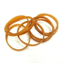 High elastic color 40x4mm width A fixed bundle of money rubber band