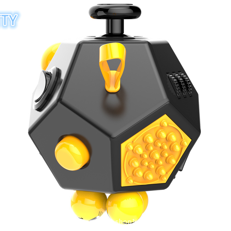 Aliexpress Buy New Upgraded Version Magic Fidget Cube A Vinyl Desk Toy Anti Irritability Toys Cobe Best Gifts For Relaxation From
