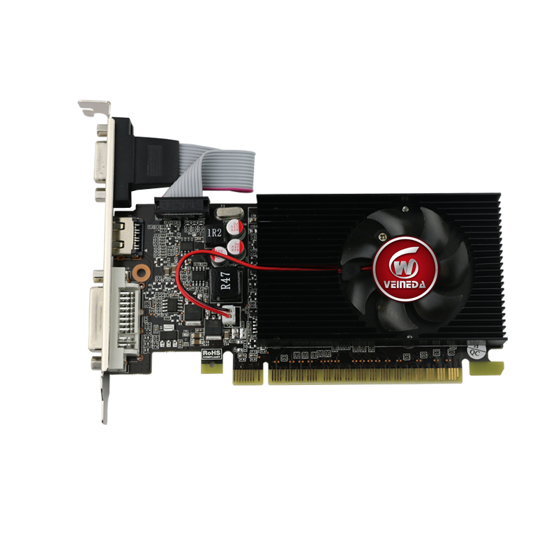Veineda display vga cards GT610 2GB DDR3 700/1000MHz for nVIDIA Geforce Game PC