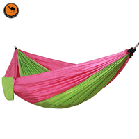 Outdoor Portable Backpack Rope Swing Hammock Light Weight Nylon Fabric For Garden Picnic Leisure Travel Camping