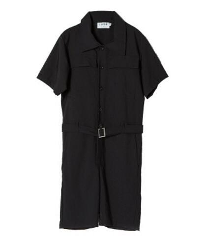 Hombres Herramientas shorts Manga Moda Short Coreano Jumpsuit Sleeves Casual Trajes La Corta Ropa Negro Verano 4xl De Pantalones S Set Estilista Pants Nuevos BWqnwZY4E