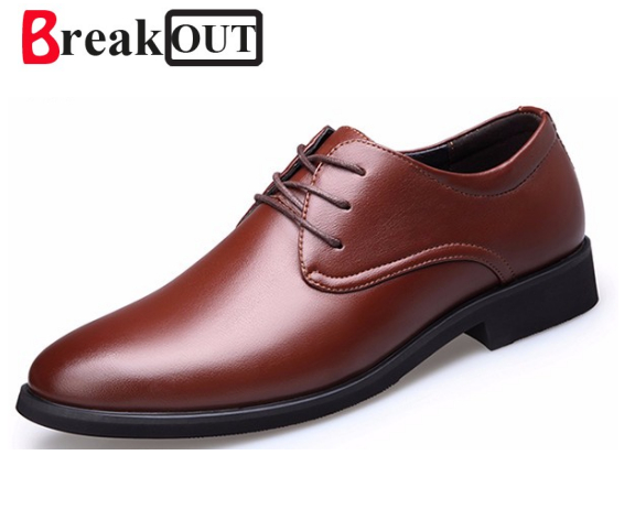 Break Out Autumn Spring High Quality Pu Leather Shoes Men,Men Dress Shoes,British Style Fashion Men Oxford For Male Shoes XB584 new 2017 men s genuine leather casual shoes korean fashion style breathable male shoes men spring autumn slip on low top loafers