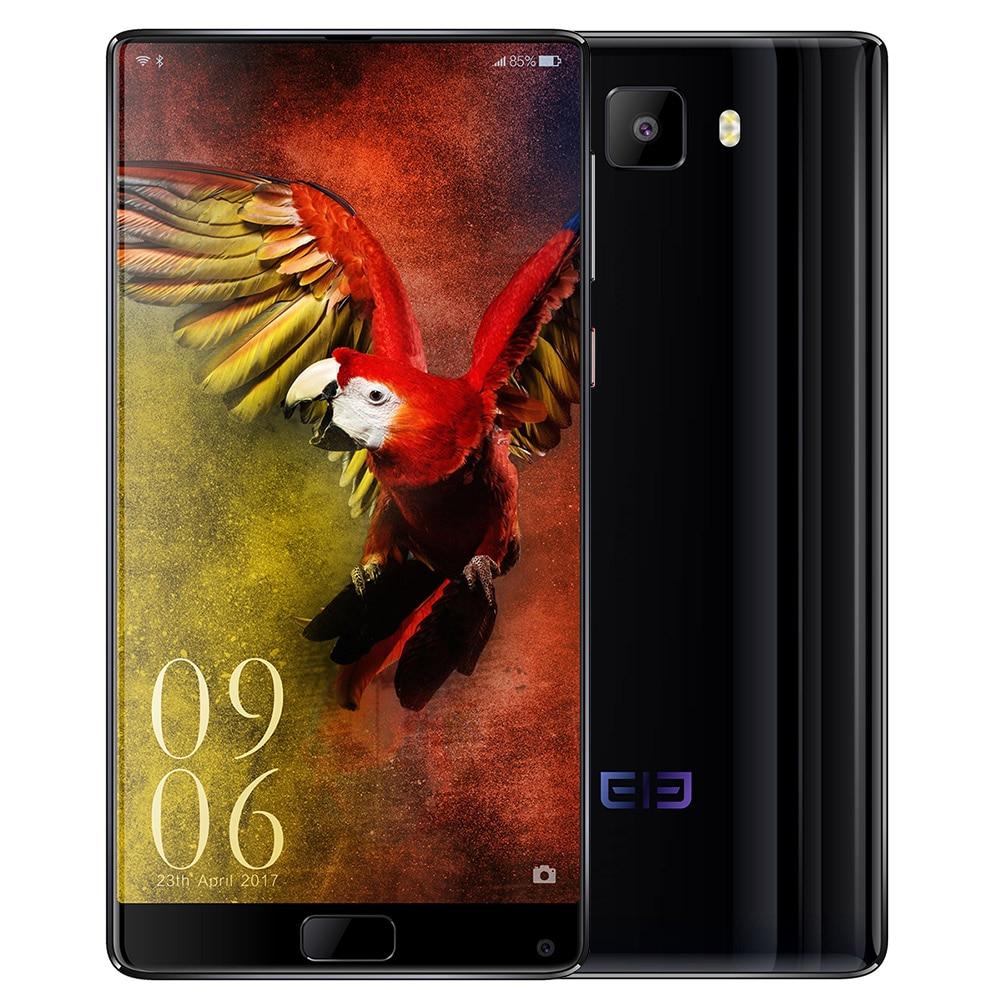 Elefon S8 6,0 ''2 Karat Bildschirm Deca Core Handy 4G Android 7.1 Helio X25 2,5 GHz 4 GB + 64 GB 21MP + 8MP Dual Cams Fingerabdruck telefon