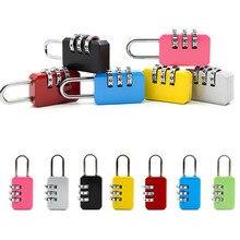 Nueva combinación de 3 dígitos reconfigurable maleta equipaje código de contraseña candado Seguridad viaje seguro Número de bloqueo