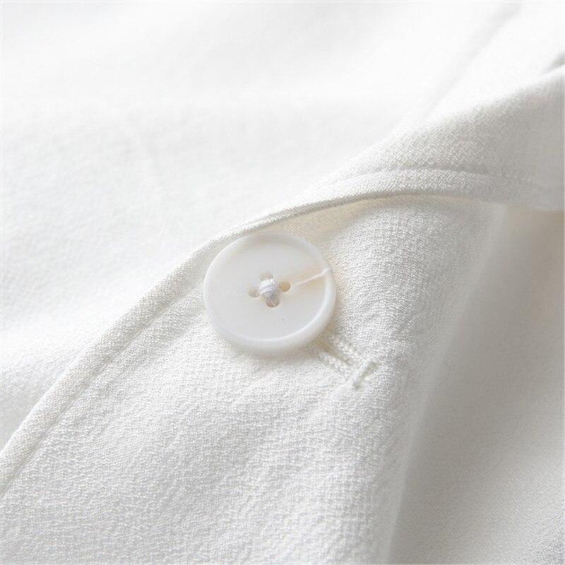 Eine Taste Blazer Männer Frühling Sommer Langarm Dünne Beiläufige Weiß Blazer Plus Größe 4Xl Hohe Qualität Business Anzug Jacke ds50689 - 6