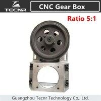 TECNR CNC Коробка передач соотношение 5: 1 Спиральные зубы прямые зубья коробка передач 1,25 модуль Синхронный Редуктор колеса коробка 1,25 м