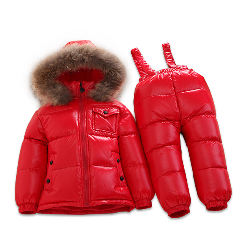 1-6 years Childrens Clothing Winter Jacket For Girls Boys White Duck Down Jacket+Pants Suit Thick outerwear & coats Waterproof1-6 years Childrens Clothing Winter Jacket For Girls Boys White Duck Down Jacket+Pants Suit Thick outerwear & coats Waterproof
