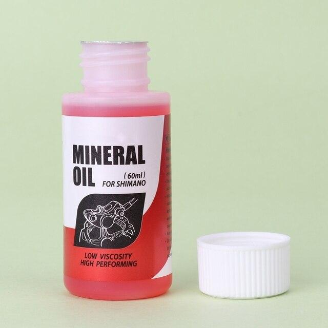 72217270db0 Sistema de aceite Mineral de freno de bicicleta 60 ml bicicleta de montaña  fluida para Shimano