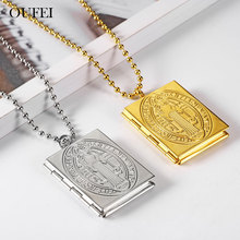 OUFEI Stainless Steel Jewelry Woman Photo Frame Necklace & Pendants Fashion Accessories Mass Effect Free Shipping