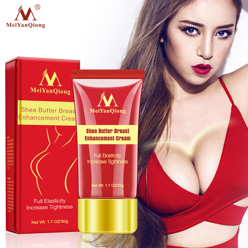 Herbal Breast Enlargement Cream Effective Full Elasticity Breast Enhancer Increase Tightness Big Bust Body Cream Breast Care 50g bust size breast enhancement cream increase big bust cream augmentation firming big bust bigger chest massage breast enlargement