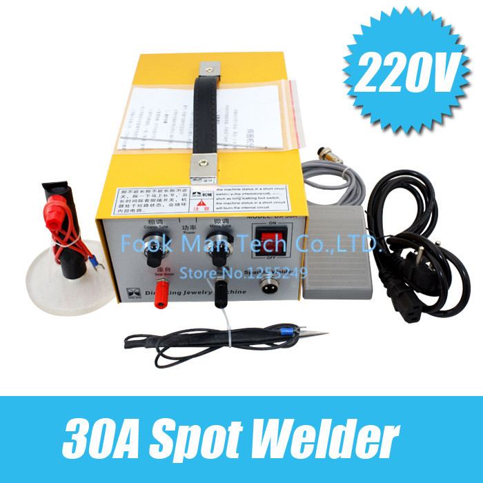 30 a pulse laser spot welding junctions welding machine necklace tiny line welding jewelry equipment