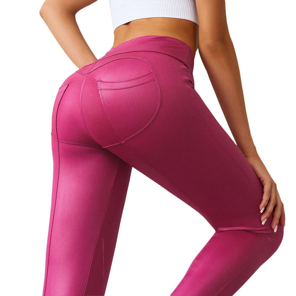 @1  Женские сексуальные леггинсы для йоги с персиковым рисунком Бесшовные сшивание сердца Леггинсы для й ✔