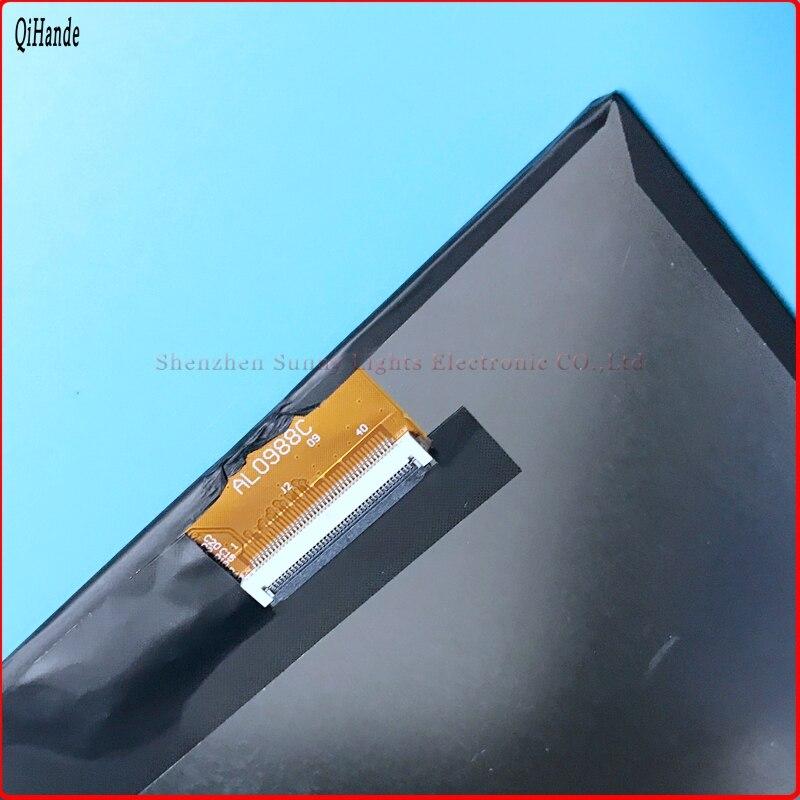 New LCD Screen Panel AL0988C 40Pin IPS screen For tablet LCD internal display screen SL101PC27D0988-C00 2015 original lcd screen for 10 1 cube u31gt talk10 lcd panel talk 10 display screen ips 1280x800 internal screen