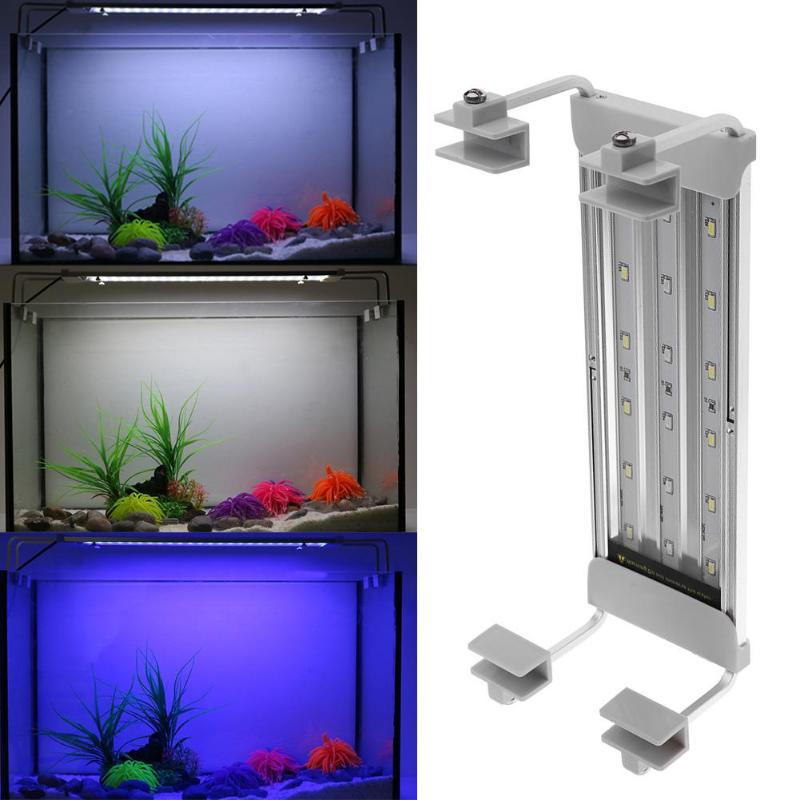 все цены на 18 LED Super Slim Aquarium Light Blue/White Submersible Aquatic Plant Lighting Lamp for Fish Tank Lamp EU/US Plug