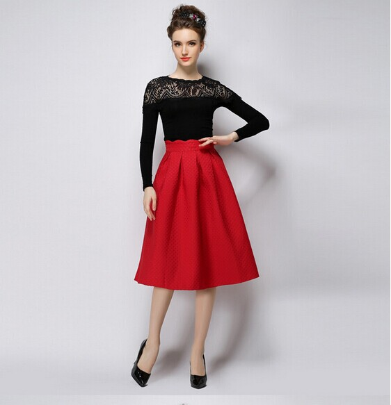 Popular Red Skirt-Buy Cheap Red Skirt lots from China Red Skirt ...