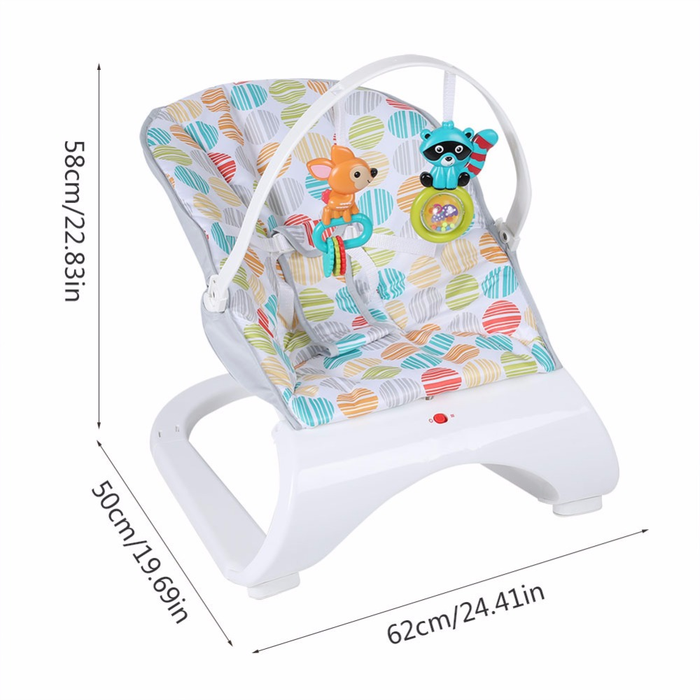HTB1M7k4Xq67gK0jSZFHq6y9jVXaU Infant Baby Rocker Electric Rocking Chair Cradle Newborn Comfort Vibration Rocking Chair Soothing The baby's Artifact Sleeps