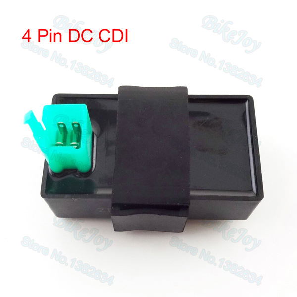 4 Pins Dc Cdi Ignition Box For 50cc 110cc 125cc 150cc Pit Dirt Monkey Bike Atv Quad Buggy