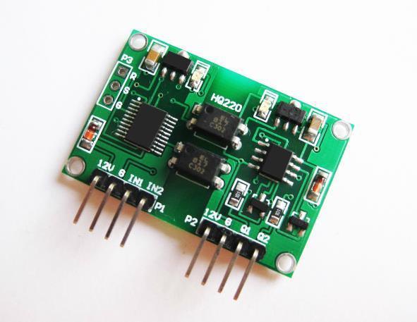Nemokamas pristatymas! Izoliuotas signalo įtampa 0-5v dviejų kanalų linijinio konvertavimo siųstuvo modulis