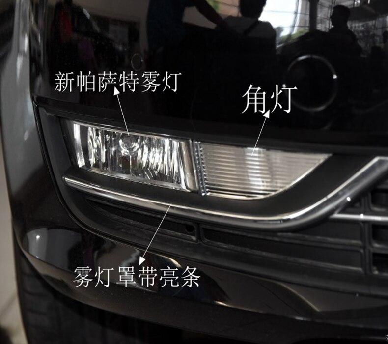 Osmrk противотуманной фары, решетки, проводка кабеля, переключатель полный комплект для Volkswagen VW Пассат 2011-2015 OEM дизайн