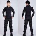 Los hombres Al Aire Libre de la Rana Traje Uniforme Militar Del Ejército Tactical Combat Shirt BDU CS Juegos (camisa + Pantalones) Multicam UN0020 Asiático/Tag Tamaño M-2XL