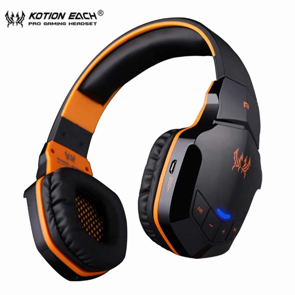 f273eb8a707 KOTION EACH B3505 Wireless Bluetooth 4. 1 Stereo Gaming Headphones Headset  Volume Control Microphone HiFi