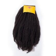 Афро Твист коса синтетический марли плетение волос для наращивания бордовый Высокая температура волокна MarleyHair